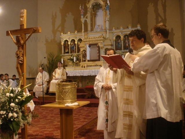 Krst na Bielu sobotu
