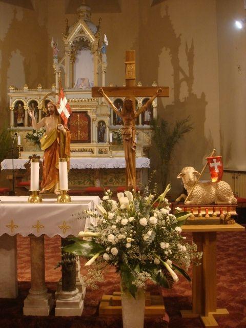 Oltár na Bielu Sobotu